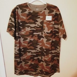 Camouflage Mens Large - Long Tee